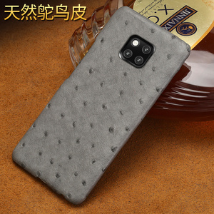 Image 4 - אמיתי יען עור טלפון מקרה עבור Huawei P30 לייט P20 P40 פרו mate 20 Nova 5t P40 Lite Mate 20 lite P20 Lite P30 Pro Y9 Y7 P SMART 2019 לייט Y7 יוקרה חזרה כיסוי עבור כבוד 8X 20 פרו 10 20i