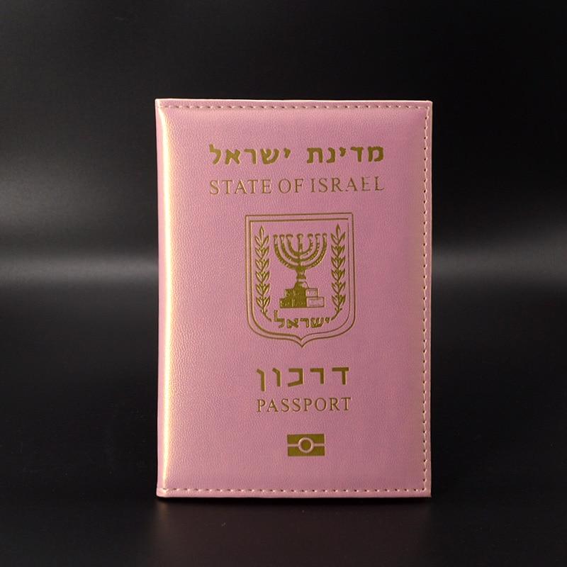 Israel Travel Passport Holder Women Cute Soft Pu Leather Cover Passport Travel Wallet Case for Passport Pasport Protector все цены