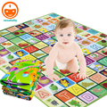 180CM Foam Baby Play Carpet Childen Rugs Baby Play Mat Climb Blanket Outdoor Indoor Baby Activity Mat Waterproof Beach Mat PX01
