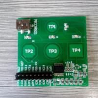16F1828/9 capacitive touch key PIC learning PIC development board capacitive development board touch development