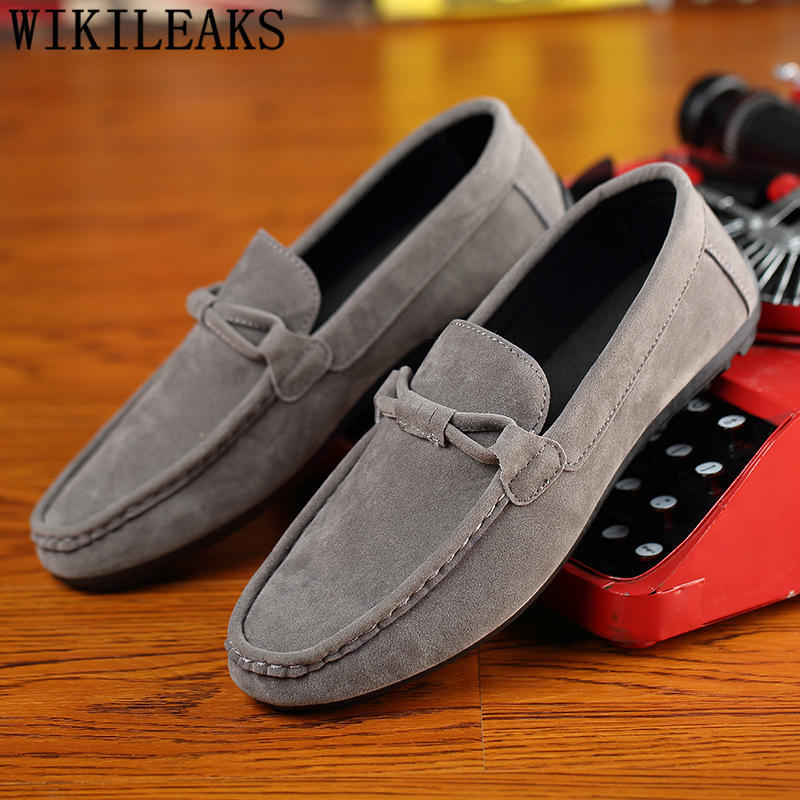 Moccasin Shoes Mens Loafers Bona Men Luxury Casual Genuino Brand Cuero Zapatos Hombre
