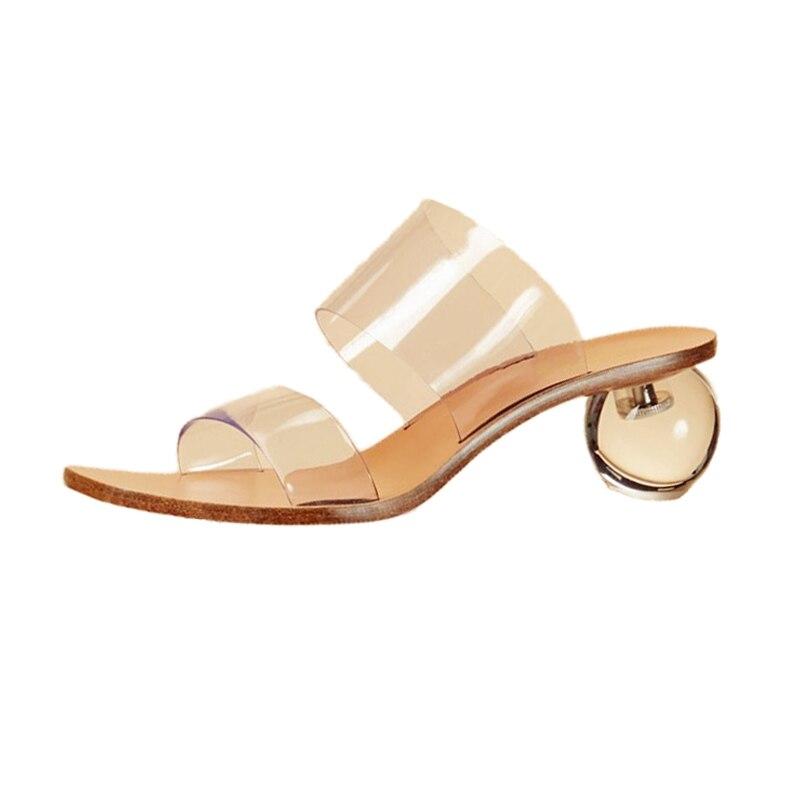 Femmes Sandales As Transparent Mules Carré Plastique En Chaussures Nouveau Pic Étrange Mode De Bout Femme D'été Hauts 2109 Talons Dames wUEtw5fq