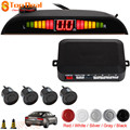 New High-tech Processing Digital LED Auto Car Parking Sensor System Vehicle Parking Assistance with 4 Reverse Backup Sensors