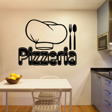 Exquisite pizzeria Wall Sticker Home Decoration Accessories Removable Murals