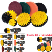 2019 latest hot sale popularDrill Brush Scrubber Cleaning Kit All Purpose Cleaner Scrubbing Cordless Drill for Cleaning Pool