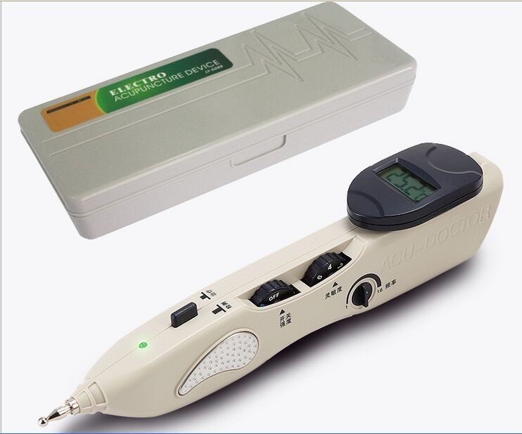 New Stimulator CE LCD Electronic Automatically Acupuncture Needle Pen Electro Acupuncture Device T.E.N.S. and Point Detector pig acupuncture model animal acupuncture model