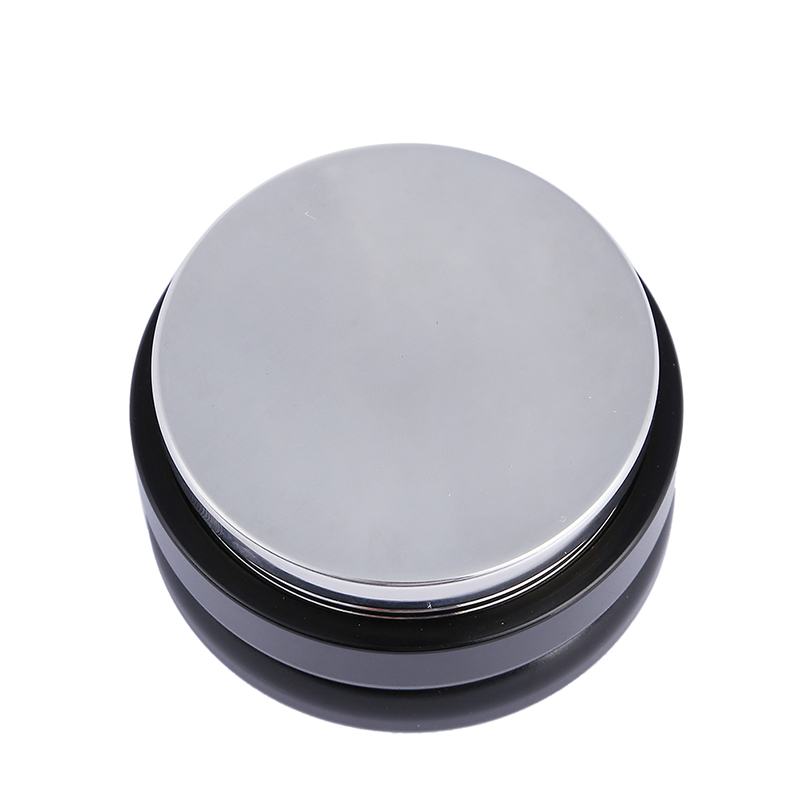 58mm Espresso Coffee Distributor Leveler Tool Macaron Coffee Tamper with Flat Basefor 58mm Portafilter