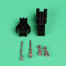 200 компл. 2Pin/способ электронные разъемы продукции клеммы для автомобиля 2.54 мм sm-2p Kit (мужской и женский Корпус + терминал) для автомобиля