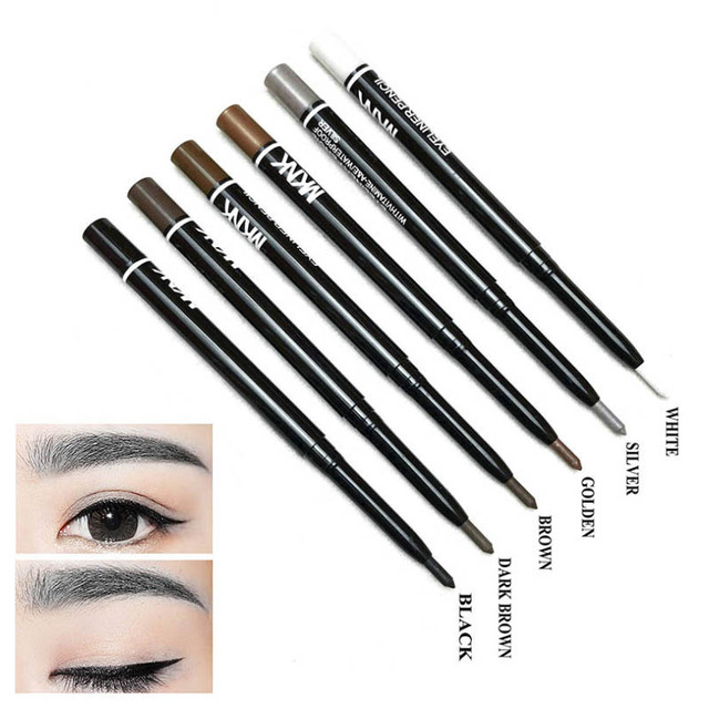 NEW Brand 6 Colors of Women Eyeliner Pencil Makeup Waterproof Eye Liner Pencils Eyes Pen Cosmetics for Young Girls Love Beauty