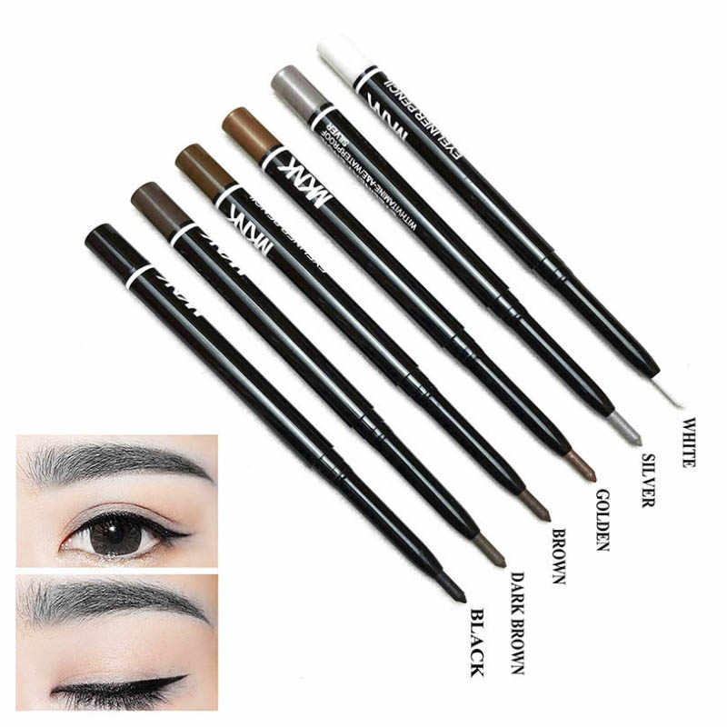 Nouvelle marque 6 couleurs de femmes Eyeliner crayon maquillage imperméable yeux Liner crayons yeux stylo cosmétiques pour les jeunes filles aiment la beauté
