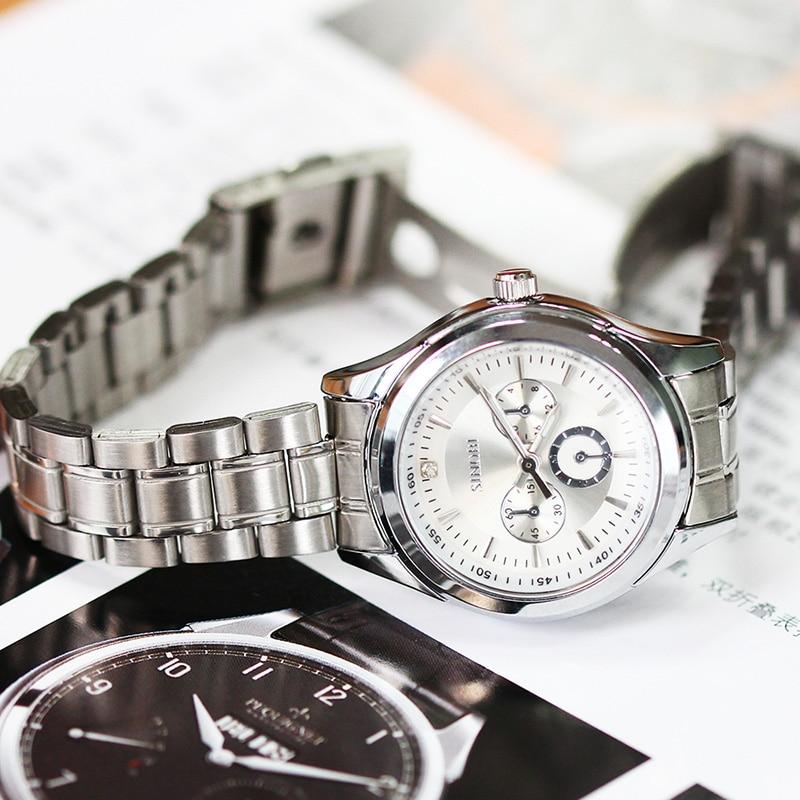 SINOBI Qadın Antik Kvars saatı Qara Qutu Xanımlar Gümüş - Qadın saatları - Fotoqrafiya 5