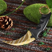 CS GO Counter Strike Claw Knife With Sheath Tactical Survival Camping Tool