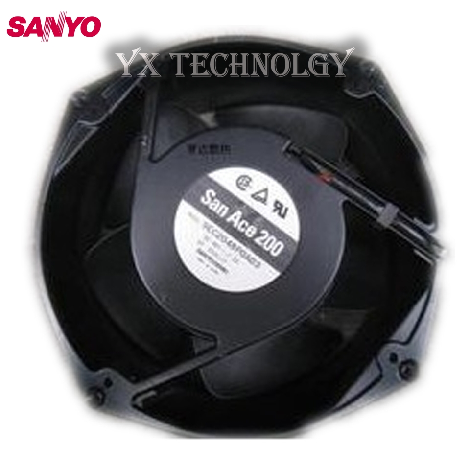 все цены на  SANYO orginal New 200 * 200 * 70MM 48V 2.2A 20CM Full Metal fan 9EC2048P0A03 wind capacity  онлайн