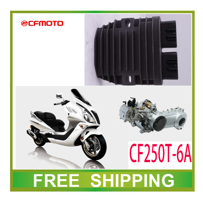 Rectifierควบคุมแรงดันไฟฟ้า250cc GY6สกูตเตอร์CFMOTO CF250T-6Aอุปกรณ์จัดส่งฟรี