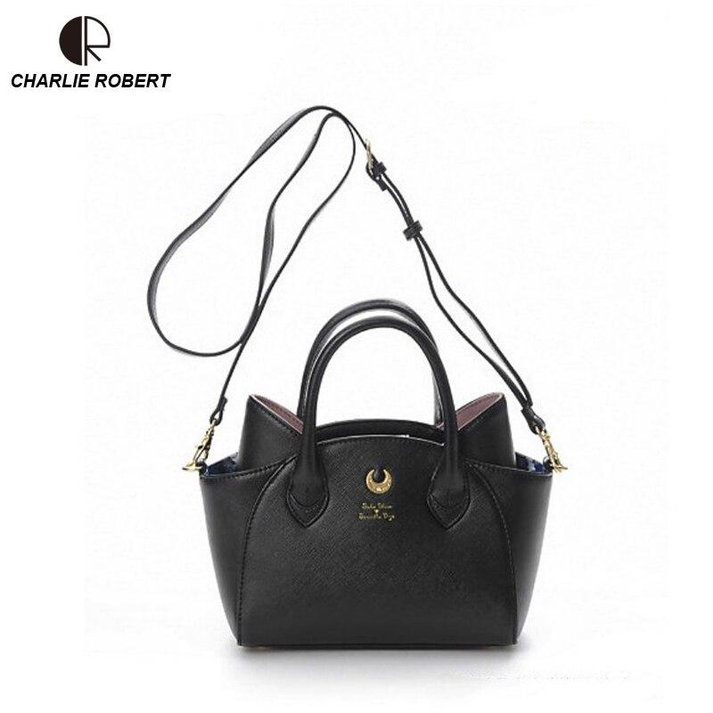 ad18e908c5 Hot Fashion Style Bags Famous Cute Design Women Messenger Bag Moon LUNA  Vega Sailor Moon Bag