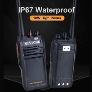 Image 3 - 防水トランシーバー 18 ワットの高出力プロポータブルラジオ局 LYT 980 400 から 520/400 520mhz トランシーバ