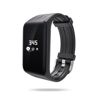 Mindkoo Fitness Tracker K1 Smart Armband Real-time Hartslagmeter down om sec Smart Band Activiteit Tracker waterdicht horloge
