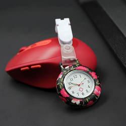 Медсестры доктор Кварцевые Fob часы силиконовый чехол ремешок карманные часы TT @ 88