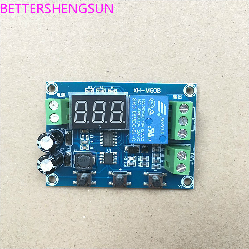 XH-M608  XH-M608 Battery Charge And Discharge Module Integrated Voltmeter
