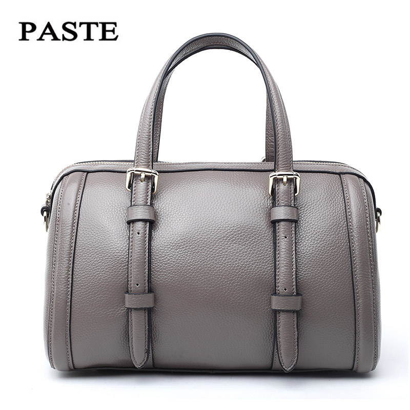 Fashion brand genuine leather bags for women Simple leisure All match crossbody shoulder bag