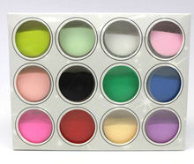 Acrylic Powder Nail Art Manicure Tips Nail Decoration Builder Polymer 12 Colors