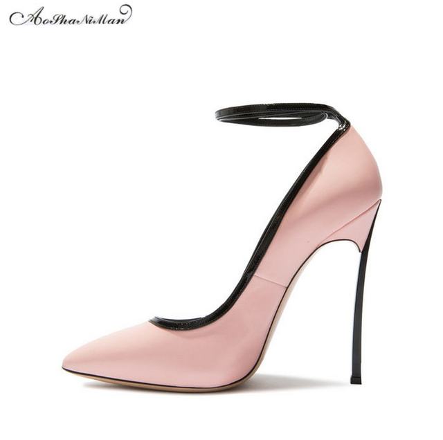 Chaussures de mariage printemps roses femme bzYKZHPNr
