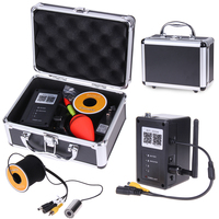 15 м кабель Длина 1000tvl подводный Камера для Рыбалка Мониторы Водонепроницаемый IP68 WI-FI Телевизионные антенны Беспроводной видео Камера Рыбал...