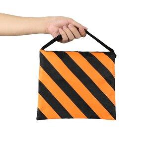 Image 2 - Orange Heavy Duty Sand Bag Photography Studio Video Stage Film Sandbag Saddlebag for Light Stands Boom Arms Tripods