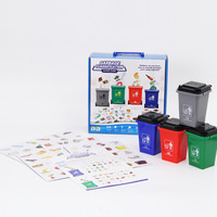 Garbage Classification Children's Early Learning Intelligence Observation Parent Child Interactive Tablegame Party Game