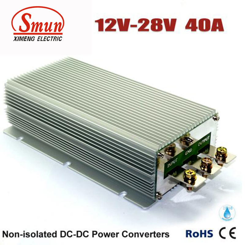 12 Volt Converter >> Us 80 75 5 Off Smun 12 Volt To 28 Volt 40 Amp Dc To Dc Voltage Converter In Switching Power Supply From Home Improvement On Aliexpress