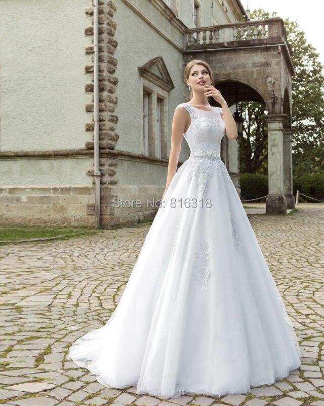 Romantic Antique Wedding: Vestido De Noiva De Renda Romantic Vintage Lace Korean