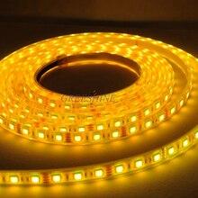 IP68 Светодиодная лента rgb Водонепроницаемый 5050 5M 12V 24V синий светодиод smd гибкая светодиодная лента светильник подводный 14,4 Вт/м DHL 100 м/лот