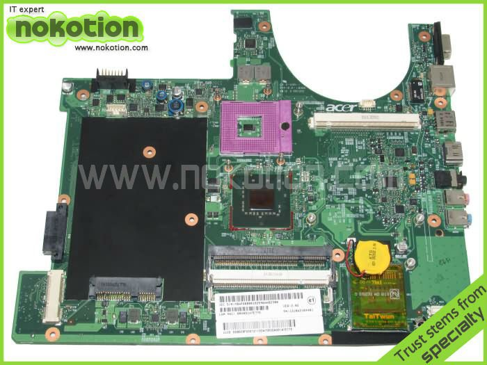 FOR ACER 6920G SERIES LAPTOP MOTHERBOARD 1310A2184401 MBAPQ0B001 Mainboard free cpu