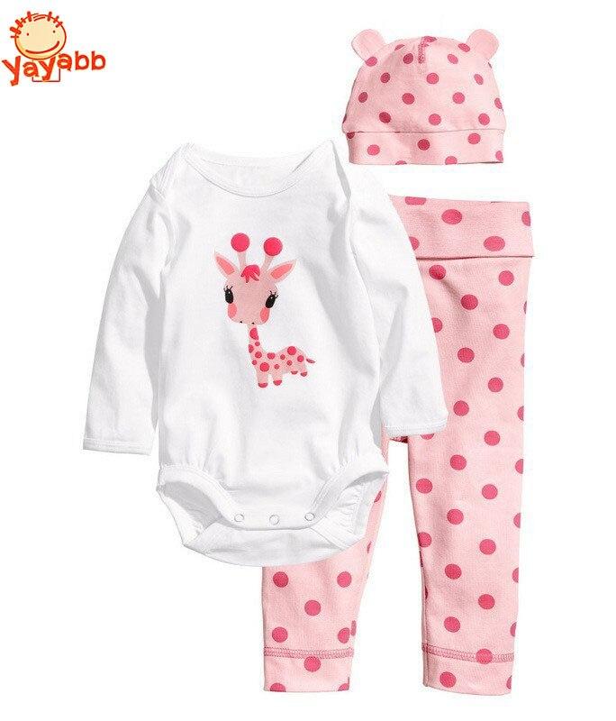 2016 Fashion Summer Baby Girl Rompers Newborn Baby Girls ...