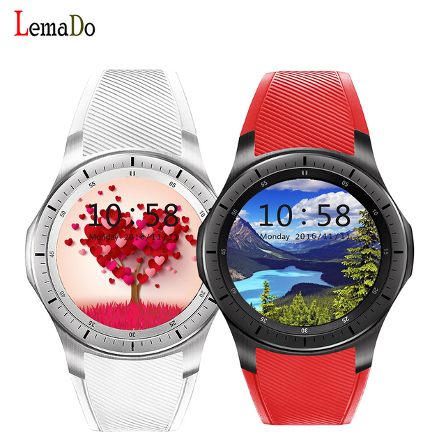 Lemado lf16 smart watch relógio de pulso de telefone android 5.1 mtk6580 apoio nano sim para android ios telefone