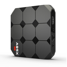 A95X R2 TV Box Amlogic S905W 2.4GHz 4K WiFi Android 7.1 Home Media Player With the EU plug
