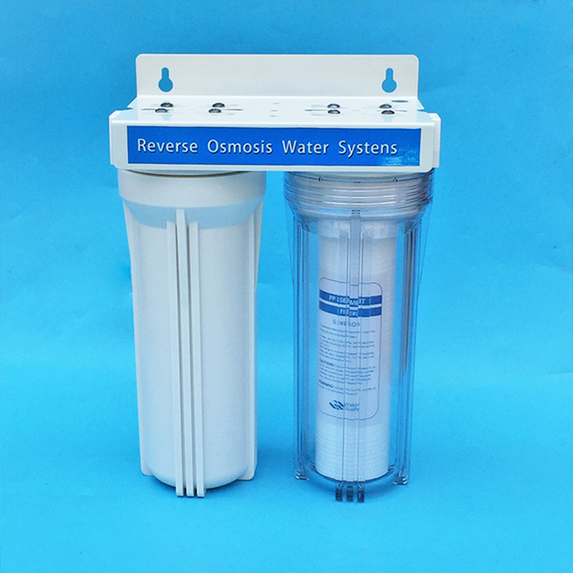 1pcs Water Filter Parts water filter bottle 10incn high 1/4 Inch Connector for Water Purifier RO Reverse Osmosis System machine €34.99 Water Filter Housings