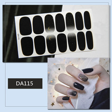 1 Piece Nail Art Sticker Decoration  fashion Manicure Full Wrap Tool Deco Water Transfer Decals for