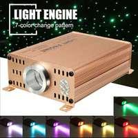 16W Fiber Optic Starry Sky Ceiling Light Remote/Sound Control Twinkly Optical Fiber Light DIY Decor for Home Car