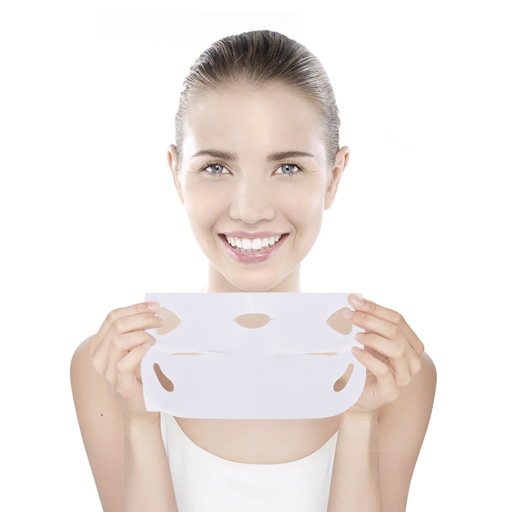 Image 4 - 20pcs/set V Chin Lifting Mask + Hydrogel Eye Patch Mask Moisture Tighten Skin Remove the Dark Circle Wrinkle for Face Care-in Face Skin Care Tools from Beauty & Health