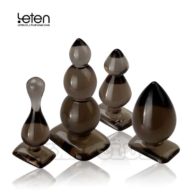 Силиконовые анальные шарики Leten, Анальная пробка, Анальная пробка, анальный фаллоимитатор, интимные игрушки для взрослых, товары для женщин ...