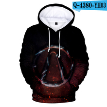 Borderlands Hoodie Pullover Sweatshirts Unisex Game Clothes Hooded Boys Clothing Printed Hoodies Men Anime Hoodie 3D Hoodie