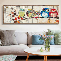 New Full,Diamond Embroidery Animal,owl diamond big long painting,cross stitch embroidery,diamond embroidery,Christmas,Gift