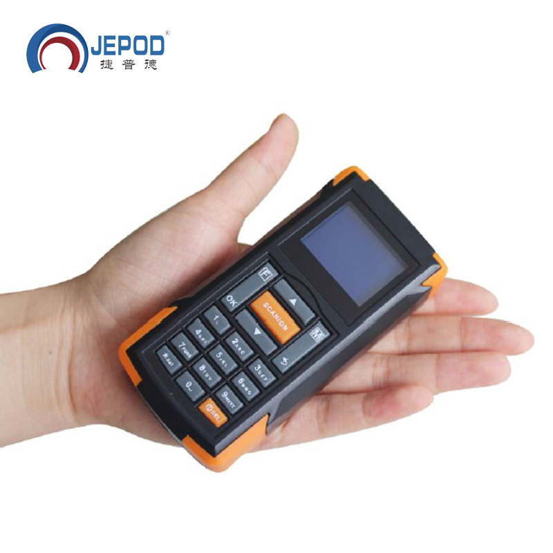 JP-D2 Wireless Data Inventory Collector 1D Barcode Scanner Terminal Wireless Barcode Scanner Laser Reader original 1d laser barcode handheld scanner bluetooth android rugged mobile data terminal pda nfc 3g data collector 1 sim card 2d