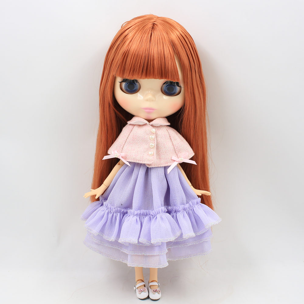 ICY Nude Factory Blyth Doll Series No. 260BL0484  red Brown hair white skin 1/6  Joint body Neo-in Dolls from Toys & Hobbies    2