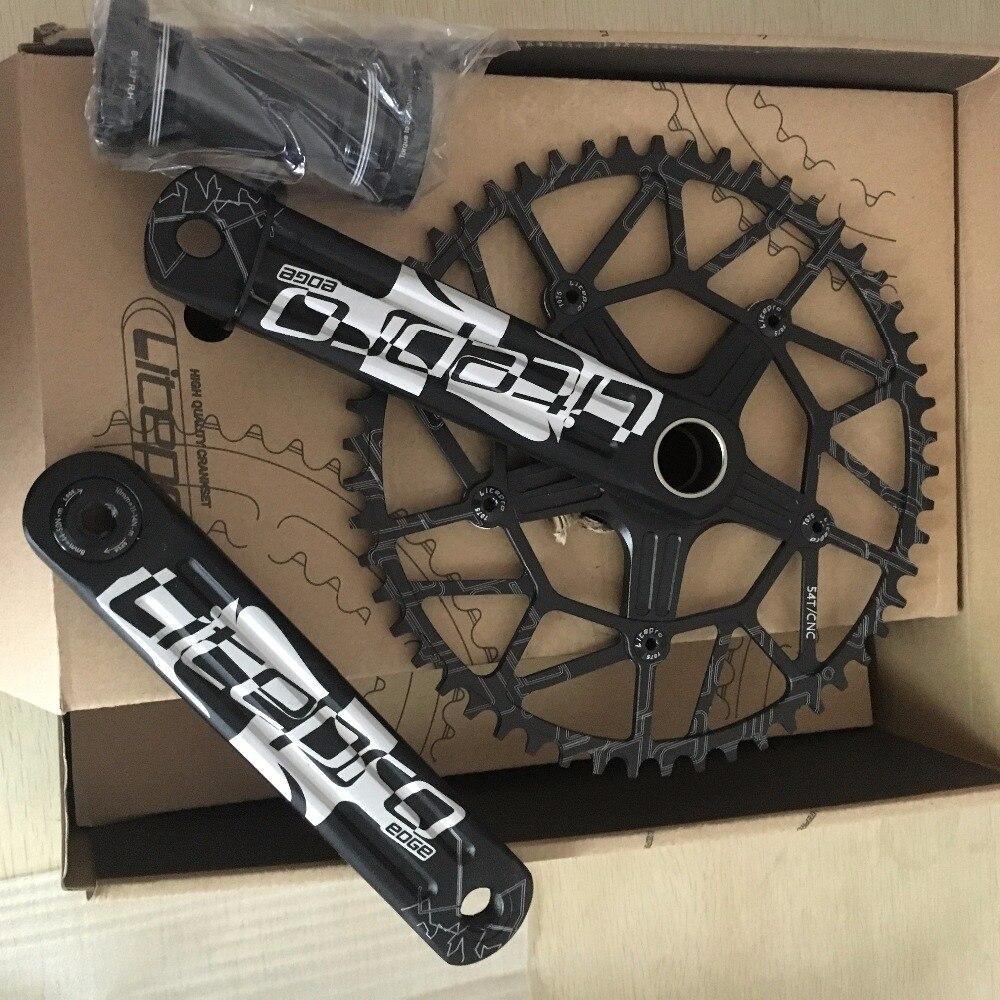 Litepro bord creux simple pédalier 58 T BCD 130mm GXP BB 170mm route vélo pliant