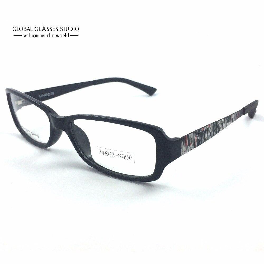 ᐃUltra ligero estilo coreano tr90 gafas mujeres negro hecho a mano ...