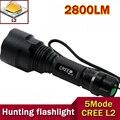 Alta qualidade lanterna C8 CREE lanterna Led 2800 Lumens lanterna Led CREE xm-l L2 lanterna de Flash de luz lampe torche