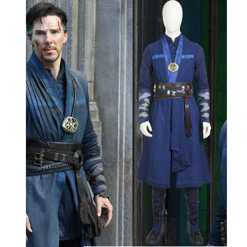 Hero Catcher High Quality Doctor Strange Costume No Cape