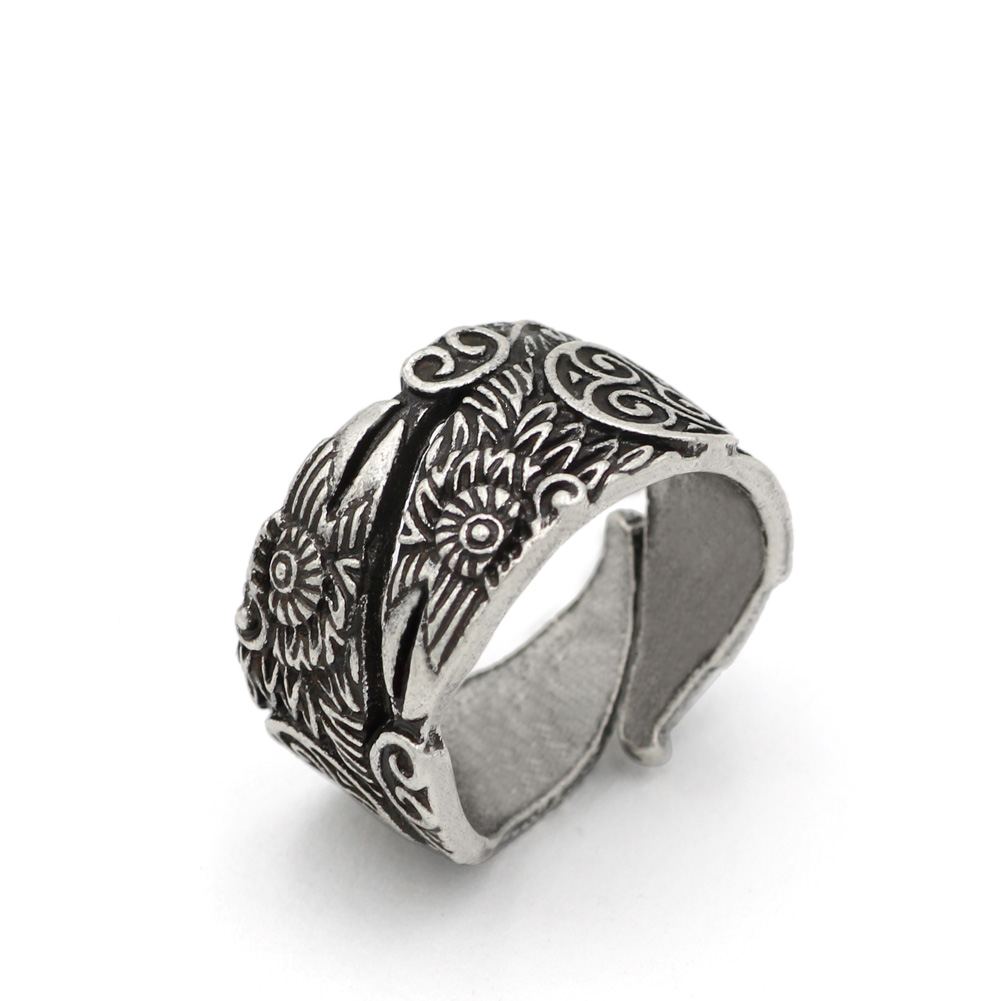 Viking Ravens Rings Celtic Symber Triskele Ring Scandinavian Norse Knot  Anel Bague Men Jewelry